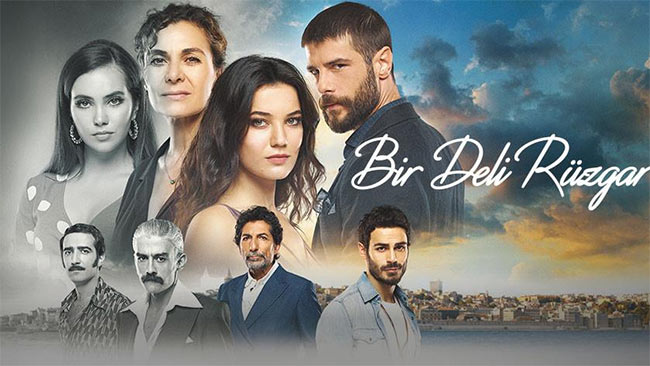 yek roozegare divaneh turkish series poster